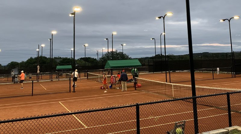 Euro Red Clay Tennis at the Village of Time